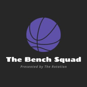 The Bench Squad Podcast Logo