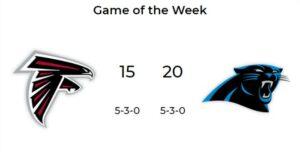 Alt+NFL Game of the Week 8